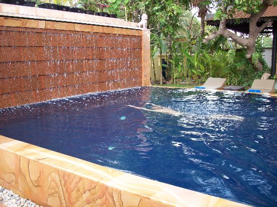 aspect of installing a pool