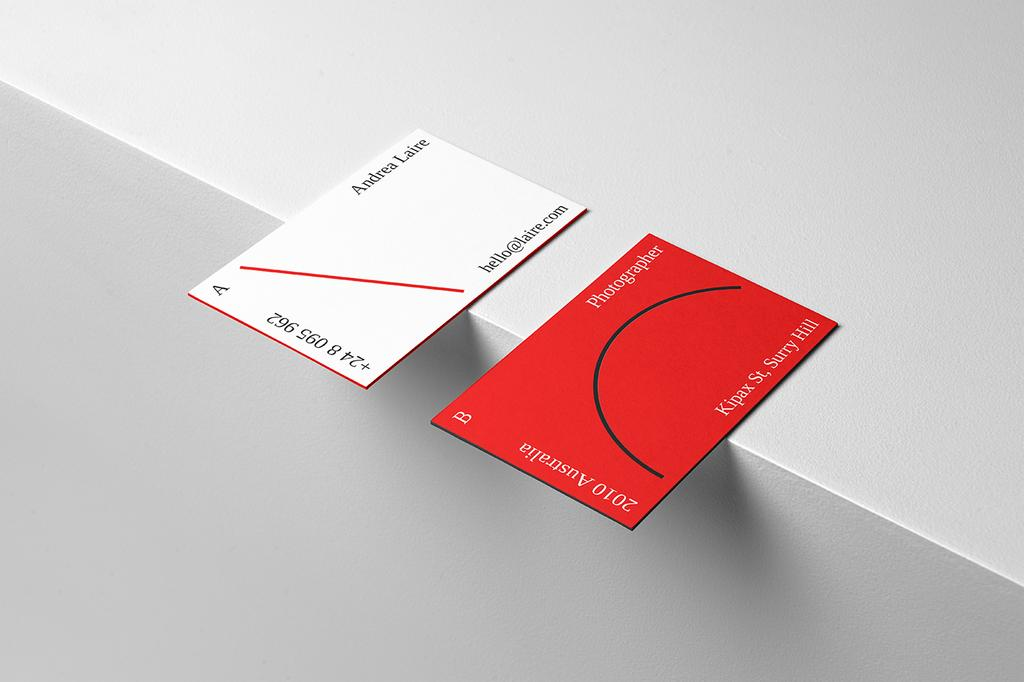 Why You Should Never Use Templates in Business Cards